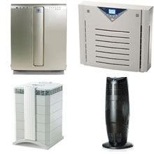 Four Air Purifiers