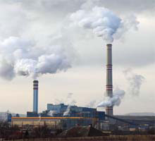 Causes of Air Pollution: A Factory