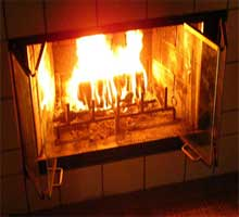 Causes of Air Pollution:  Fireplaces